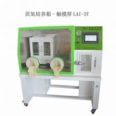 供应上海龙跃 大屏幕触摸式厌氧培养箱 YQX-T 实验室厌氧试验箱