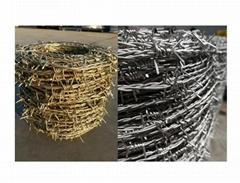 Reverse Twist Barbed Wire