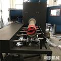 圓管噴砂機 利索圓管外壁自動噴砂機 2