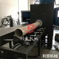 圓管噴砂機 利索圓管外壁自動噴砂機 4