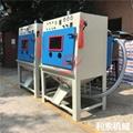 電木批量處理設備-利索滾籃式自動噴砂機 2