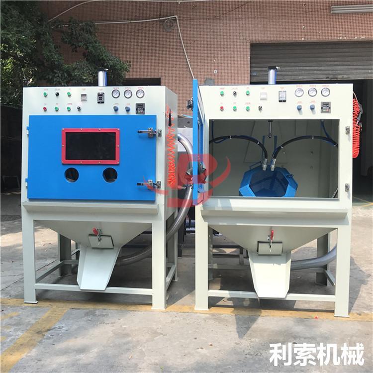 電木批量處理設備-利索滾籃式自動噴砂機 3