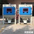 電木批量處理設備-利索滾籃式自動噴砂機 4