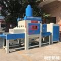 利索亞克力蒙砂輸送式自動噴砂機 1