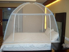 AMVIGOR Folded Mosquito Net with Two Doors