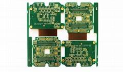 Non Layered Rigid Flex PCB