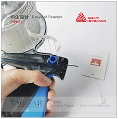 艾利丹尼森再生卷装塑料胶针枪打吊牌胶针排针线 (rPET材质)