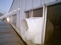 Poultry house FRP negative pressure ventilation cone fiberglass inline exhaust f 3