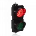 100mm Colored Lens Industrial LED Traffic Light Signal Light