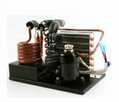 Micro Cooling Unit for Water Chiller and Other Small Portable Liquid Refrigerant