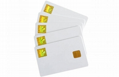 CONTACT CARD+HOLOGRAM LABEL
