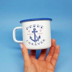 Enamel cup  Enamel mug processing custom