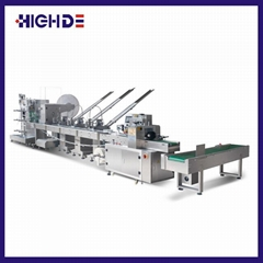 High-Grade wooden Cutlery Napkin Fork Knife Toothpick Straw Packaging machine