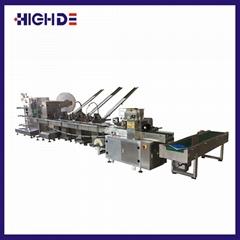 High Efficiency Napkin Folding Cutting Printing Machine Cutlery Packaging Machin