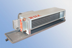 Concealed horizontal Fan Coil Unit with return air box