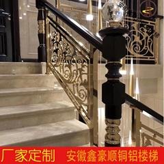 安徽銅樓梯扶手