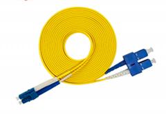 G652 fiber 3.0mmm fiber optic patch cord fiber optic internet