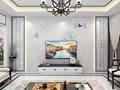 新中式家和整體滲墨大板電視背景牆 1
