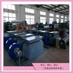 煤矿配套空气加热器 专业定制烘房升温 风道式加热器