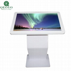 qeoyo  LCD Advertising Touch Screen Kiosk Advertising Player Horizontal Query