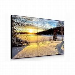 qeoyo China 55 inch Wall Mounted 4k Full Hd Touch Screen Advertising