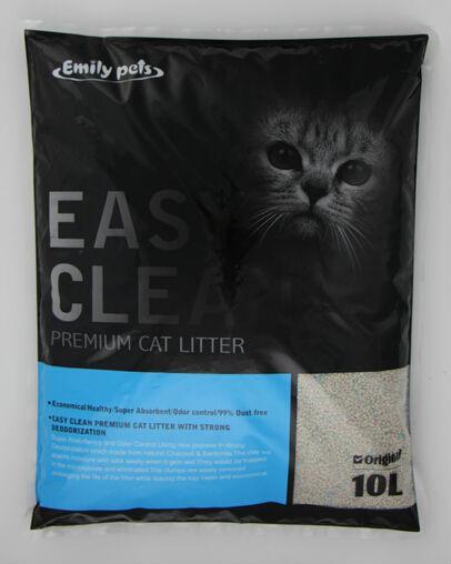 Wholesale Deodorizing Dust-free Antibacterial Eco-friendly Bentonite Cat Litter 1