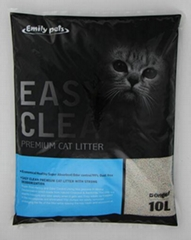 Wholesale Deodorizing Dust-free Antibacterial Eco-friendly Bentonite Cat Litter