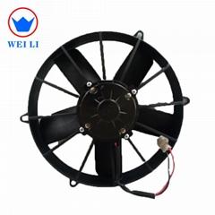 11 inch bus air conditioning condenser fan motor 24V DC motor FAN