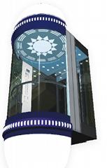 山東鼎亞電梯生產銷售觀光電梯