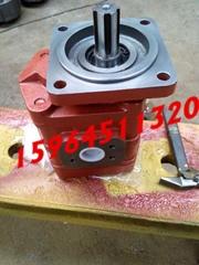 济南液压泵佳木斯s100掘进机三联齿轮泵