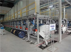 LT series wet wire brassing wire drawing machine