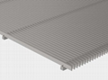 Flat Wedge Wire Panel for Filtering and