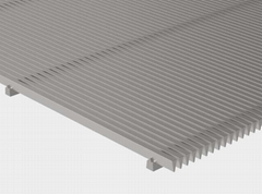 Flat Wedge Wire Panel for Filtering and Screening  Wedge Wire Panels