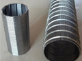 High Precision Wedge Wire Screen Filter