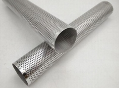 Stainless Steel Perforated Pipe Perforated Screen Tube   Filters & Baskets