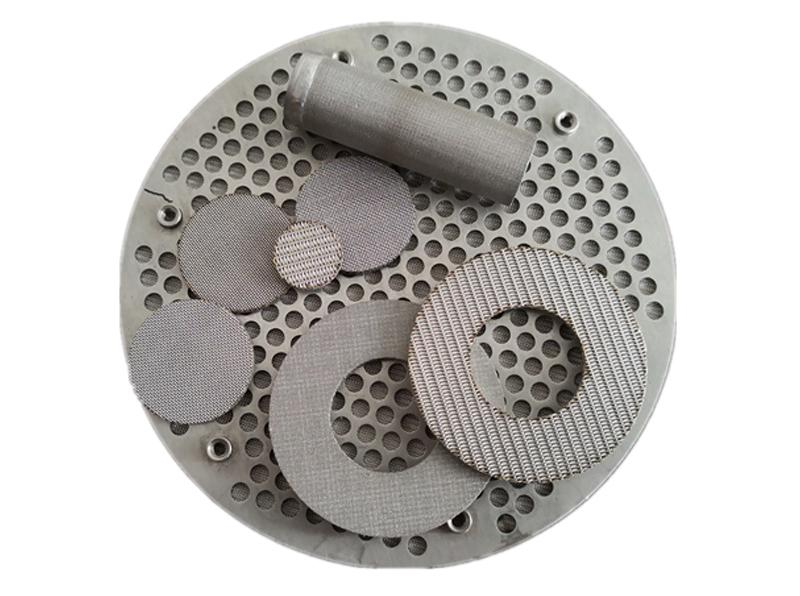 Multi-layered Sintered Filter Disc  Sintered Mesh Laminates    Filters & Baskets 1
