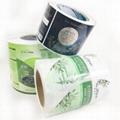 custom adhesive label sitcker in roll 3
