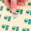transparent self adhesive label sticker printing 1
