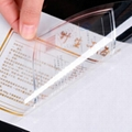 transparent self adhesive label sticker printing 2