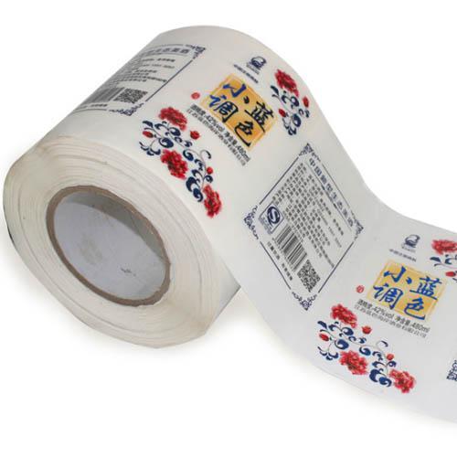 custom adhesive label sitcker in roll 4
