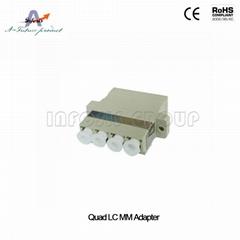 Quad LC MM Adapter