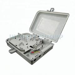 16 port Fiber Optical Splitter Indoor Distribution Box FTTH Terminal IP65