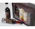 Wholesale Hot Sale Custom Square Luxury Black Paperboard Paper Wine Box 2
