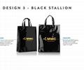 Fashion design clear PVC Plastic ice bag