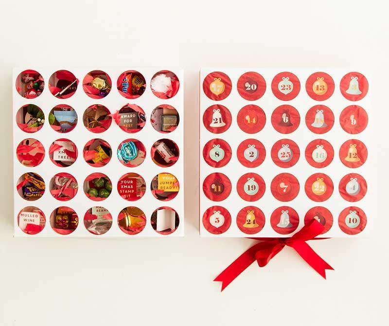 Luxury Custom Design Advent Calendar Box Christmas Drawer Box 2