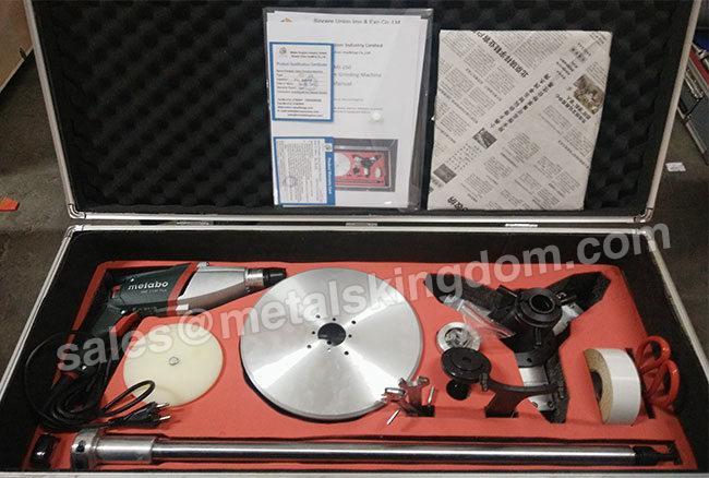 MJ-250 Portable Globe Valve Grinding Machine 1