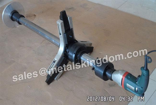 "DN100-400mm 4""-16"" MJ400 Portable Globe&Relief Valve Grinding Machine 1"