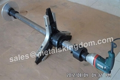 "DN100-400mm 4""-16"" MJ400 Portable Globe&Relief Valve Grinding Machine"