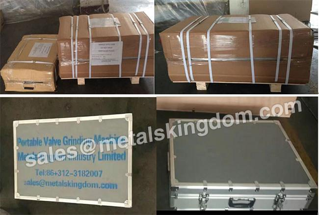 "DN100-400mm 4""-16"" MJ400 Portable Globe&Relief Valve Grinding Machine 3"