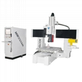 AccTek professional 5 axis cnc router machine woodworking machinery atc router